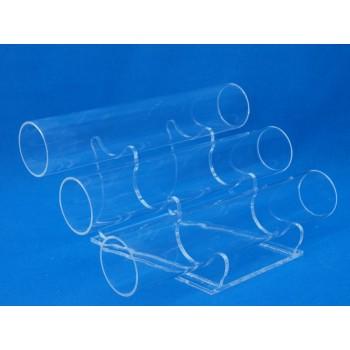 Expositor pulsera 3 tubos PVL