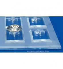 Expositor anillos 12 unidades con bases BI 800
