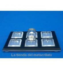 Expositor anillos con bases BJ900