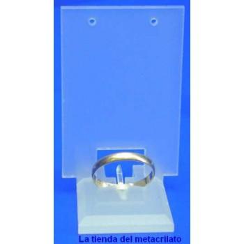 Expositor anillo-pendiente 1 par omega