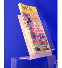 Expositor para folletos sobremesa