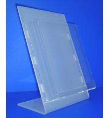 Expositor para folletos sobremesa 30mm de fondo PLV