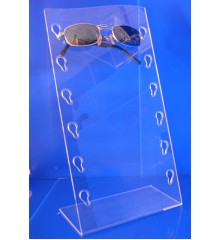 Expositor para gafas doblado