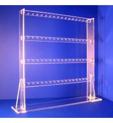 Expositor pendientes 4 alturas 32 pares