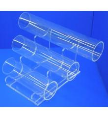 Expositor pulsera  3 tubos de 250 - 200 - 150