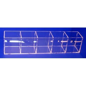 Caja lapices 5 huecos de 80mm x 75mm x100mm