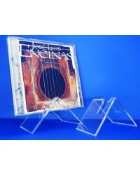 Expositor para CDs para 1 CD en L inclinado