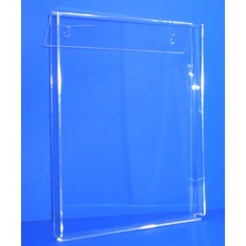 Expositor para folletos A-4 inclinado a pared PLV