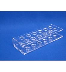 Expositor para mechero redondo 12 unidades diferentes diametros