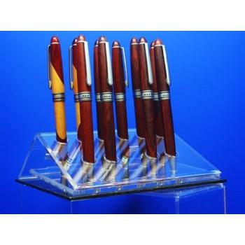 Expositor para boligrafos trianular 6 unidades