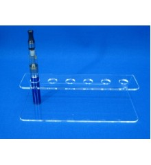 Expositor para 6 cigarrillos electrónicos