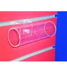 Expositor Lama pulsera  en tubo 50 mm de diametro