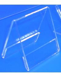 Expositor porta cartel triangulo dos caras PLV
