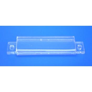 Expositor para cartel pequeño 45x15mm para atornillar PLV