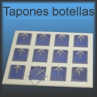 Tapones botellas